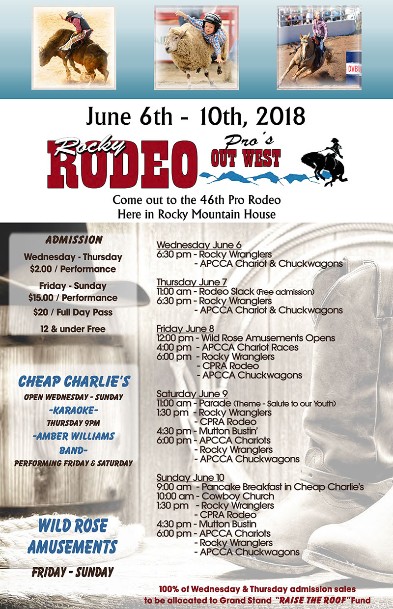 Rocky Rodeo - June 6-10, 2018